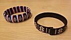 Two Woven Bracelets
