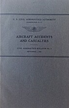 Aircraft Accidents and Casualties - Civil…