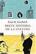 In Search of Cultural History (P.M.Deneke…