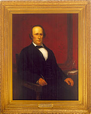 Author photo. Portrait by Eliphalet Frazer Andrews (copied from an earlier portrait).  U.S. Dept. of Treasury