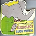 Babar's Busy Week (Chunky Shape Books) by…