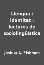 Llengua i identitat : lectures de…