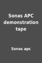 Sonas APC demonstration tape by Sonas apc