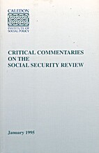 Critical commentaries on the social security…