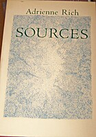 Sources by Adrienne Cecile Rich