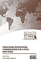 Operational Reservations: Considerations for…
