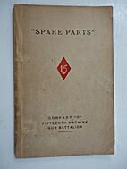 Spare Parts Company D, 15th Machine Gun…