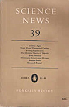 SCIENCE NEWS 39 by A. W. Haslett
