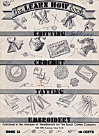 The Learn How Book - Knitting, Crochet,…