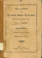 Explanation of Luther's Small catechism by…