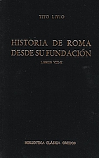 History of Rome, books 8-10 by Livy