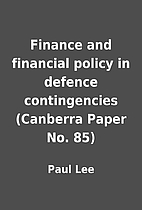 Finance and financial policy in defence…