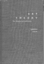 Set theory; the structure of arithmetic by…