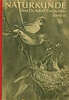 Naturkunde, 2. Bd. by Adolf Gscheidle