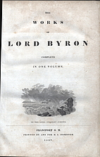 The Works of Lord Byron Embracing His…