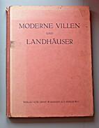moderne villen und landhaeser by Richard…