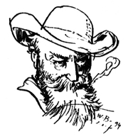 Author photo. Selfportrait (1894)