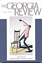 The Georgia Review, Fall 2010 : Special…