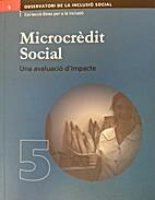 Microcrèdit social. Una avaluació…