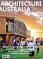 Architecture Australia Vol.101, No.4