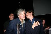 Author photo. Robyn Hitchcock (on left). David Poe