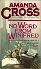 No Word from Winifred by Amanda Cross