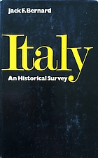 Italy: an historical survey by Jack F…