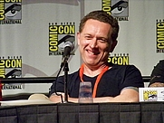 Author photo. DC Universe panel, Comic-Con International 2009, photo by Loren Javier