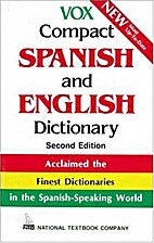 Vox Compact Spanish and English Dictionary,…
