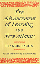 The Advancement of Learning (Oxford English…