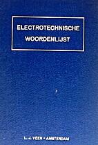 Electrotechnische woordenlijst by Koninklijk…