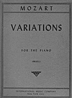 Variations for the piano by Wolfgang Amadeus…