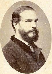 Author photo. Rufino José Cuervo. By Cultura Banco de la República