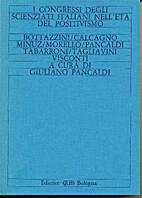 I congressi degli scienziati italiani…