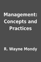 Management: Concepts and Practices by R.…