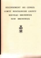 New Brunswick census of 1851 : Restigouche…