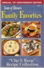 Taste of Home Family Favorites Clip & Keep…