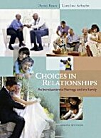 Choices in Relationships An Introduction to…