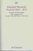 Sämtliche Werke Bd. 7. Nachlaß 1869 -…