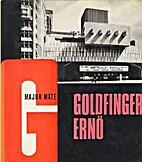 Goldfinger Ernő by Major Máté