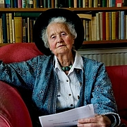 Author photo. Mary Midgley in 2010.