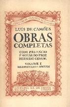 Obras Completas - Volume I, Redondilhas e…