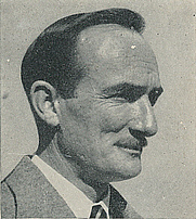 Author photo. Cropped scan from back cover of Penguin No.1085 - unattributed image