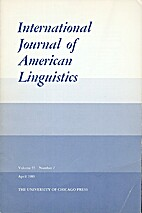 International Journal of American…
