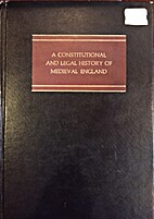 A constitutional and legal history of…