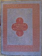 John Greenleaf Whittier by Thomas Wentworth…