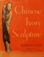 Chinese ivory sculpture by Warren Earle Cox