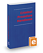 Criminal procedure handbook