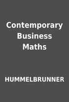 Contemporary Business Maths by HUMMELBRUNNER