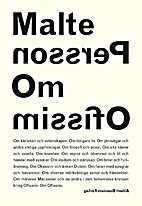 Om Ofissim by Malte Persson